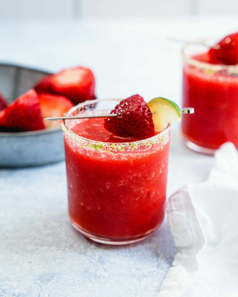 Perfect Strawberry Margarita Easy Refreshing A Couple Cooks