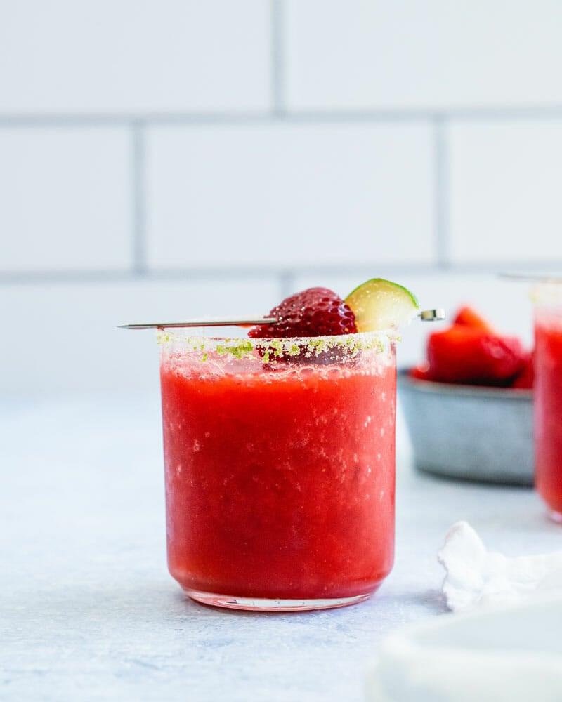 Strawberry magarita