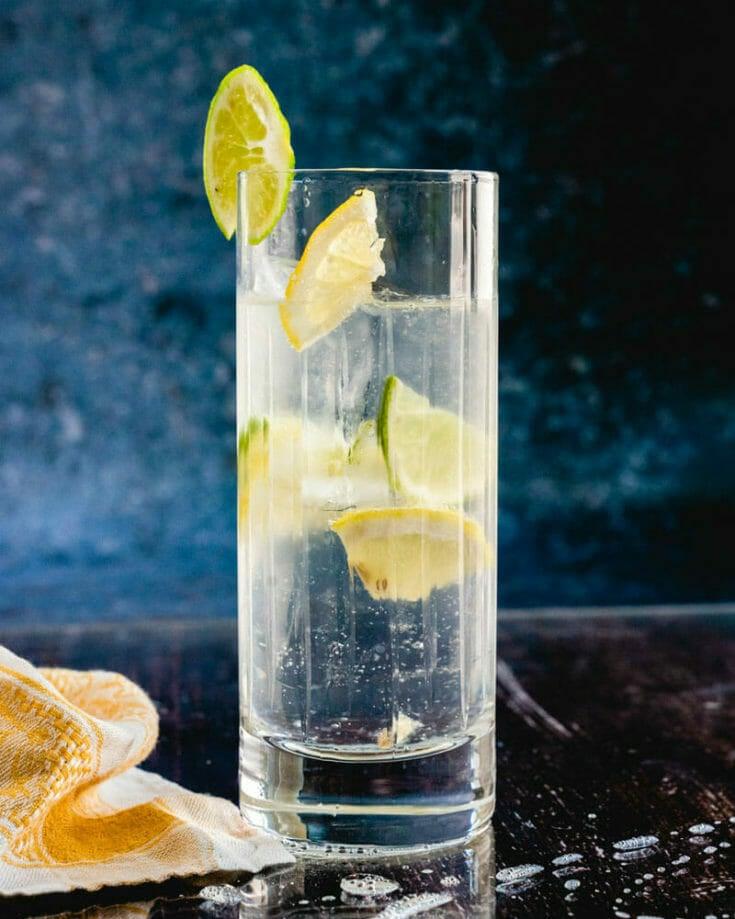 Vodka Highball (Vodka Tonic)