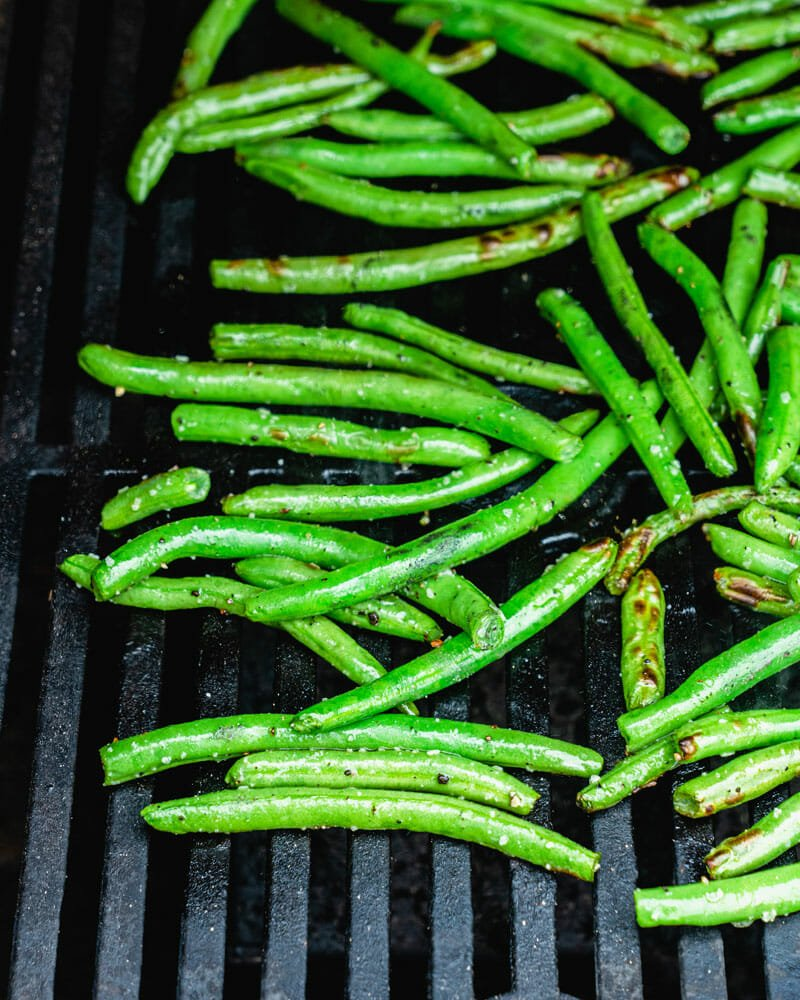 How to grill green beans
