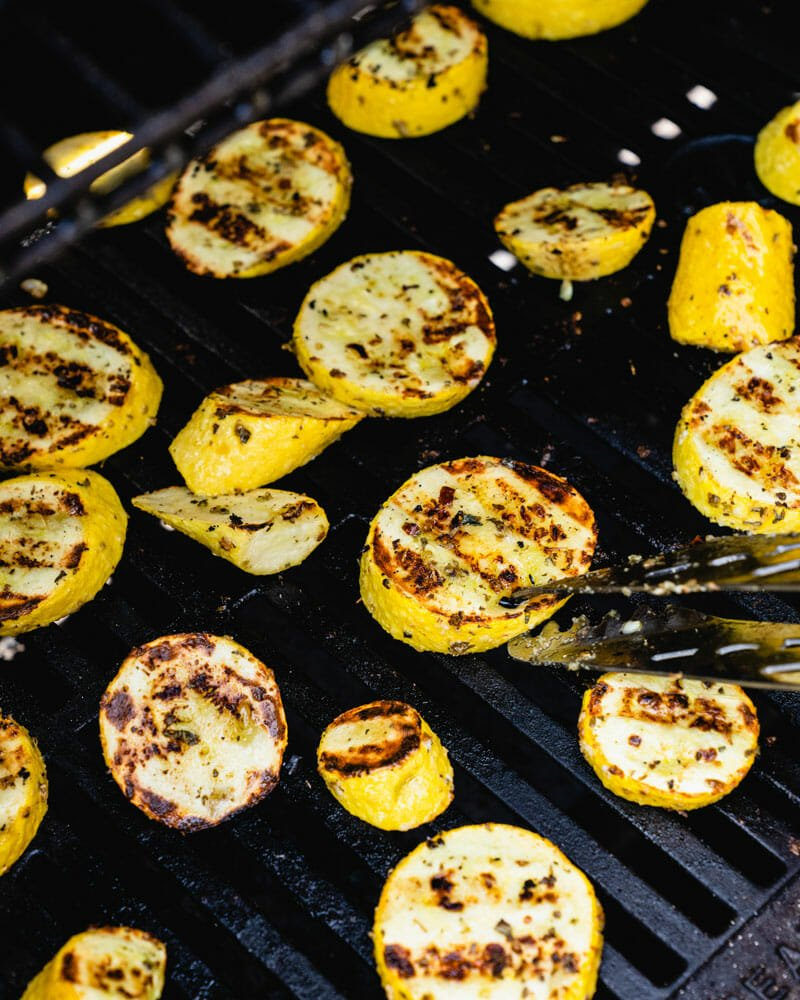 How to grill squash