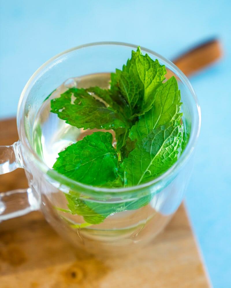 Spearmint tea | peppermint tea