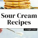 Sour Cream Recipes