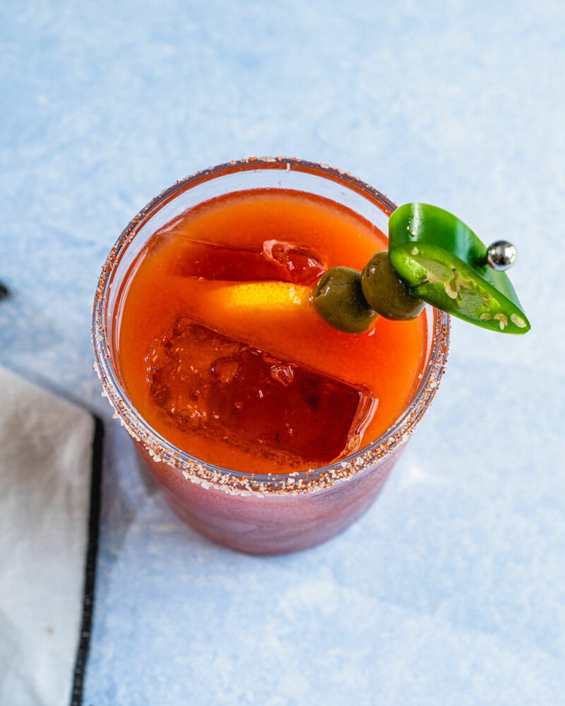 How to make a spicy bloody mary