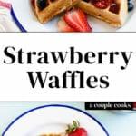 Melhores Waffles de Morango - Alguns Cozinheiros 1