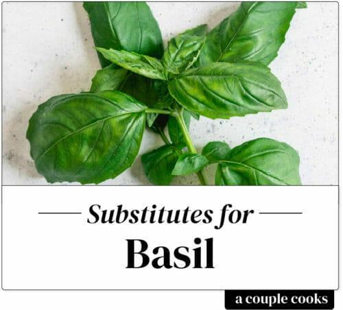 Basil substitute