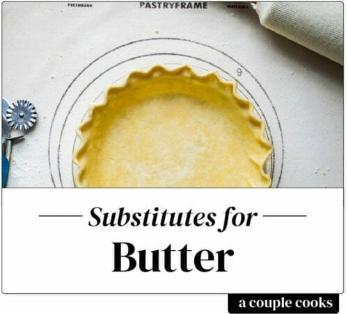 Substitute for butter