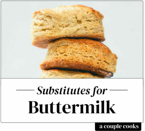 Buttermilk substitute
