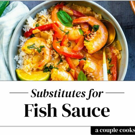Fish sauce substitute