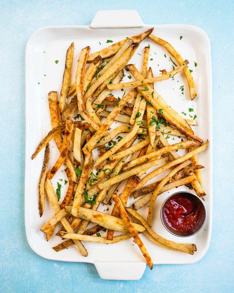 Healthy baked french fries recipe