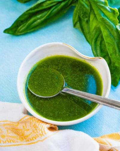 Basil sauce