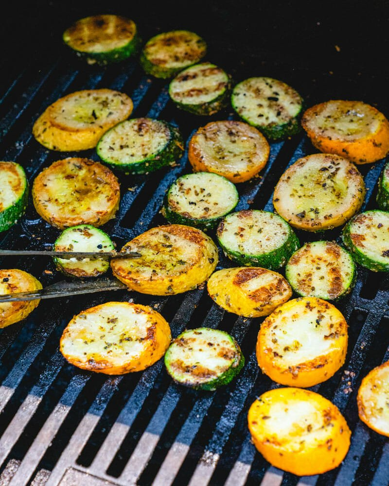 How to grill zucchini and squash