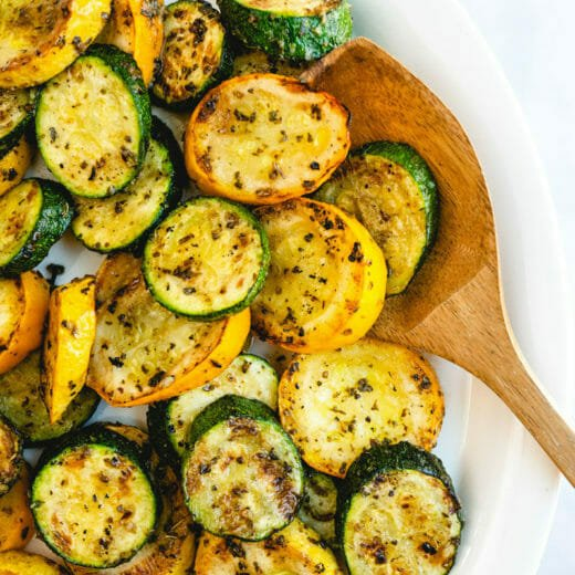 Grilled Zucchini & Squash