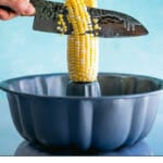 How to Cut Corn Off of the Cob
