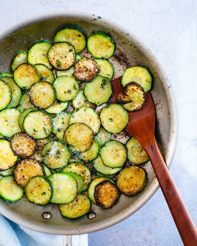 How to saute zucchini