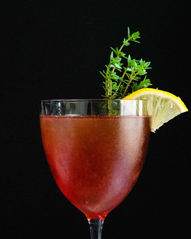 How to make a sloe gin cocktail