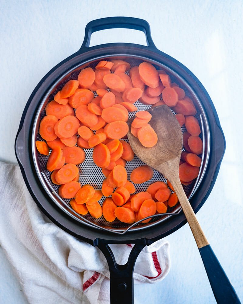 How to steam carrots
