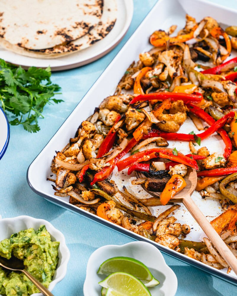 How to make vegan fajitas