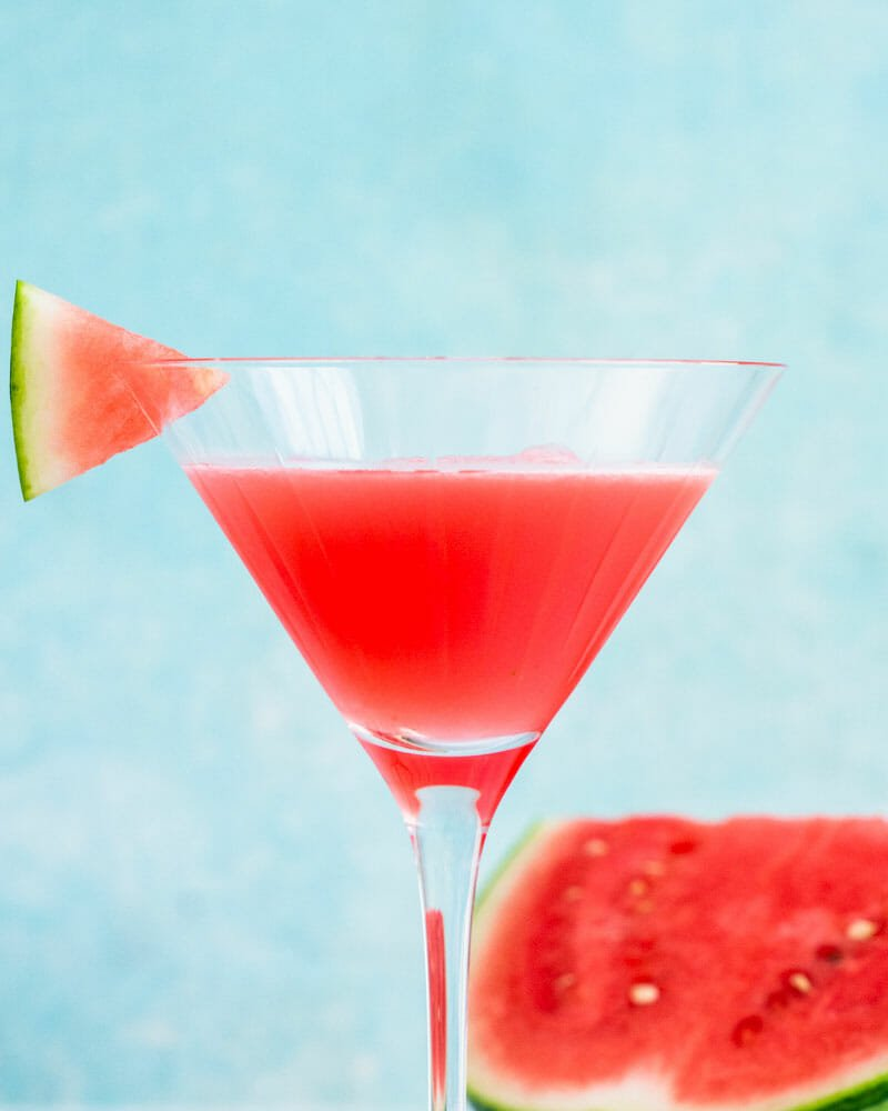 How to make a watermelon martini