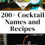 Cocktail Names