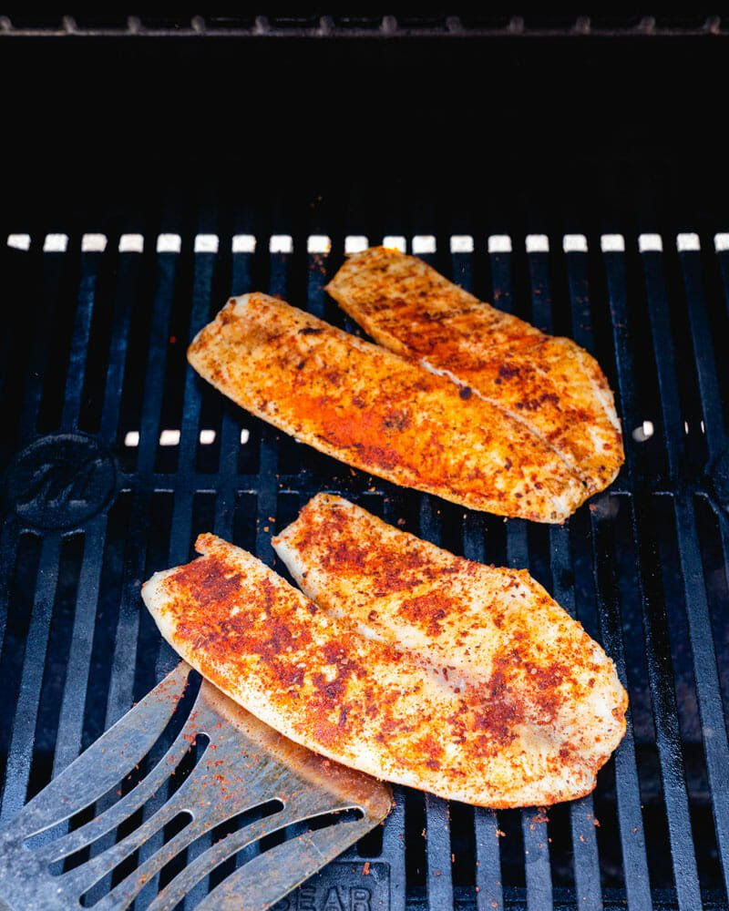 How to grill tilapia