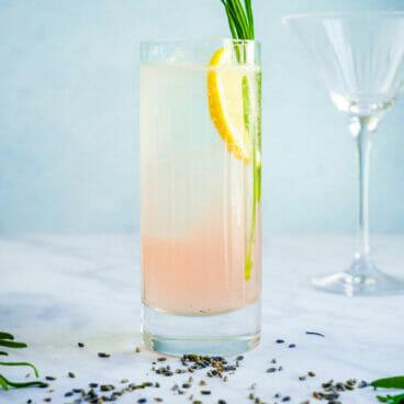 Lavender cocktail