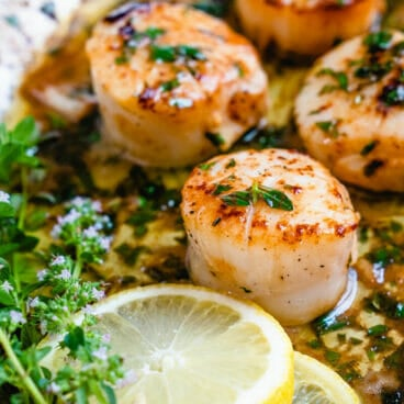 Sauce for scallops