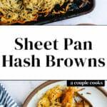 Sheet Pan Hash Browns