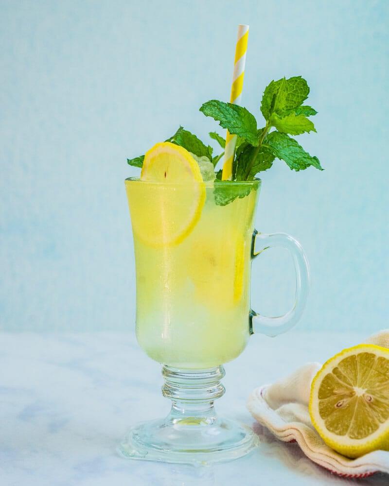 Spiked lemonade