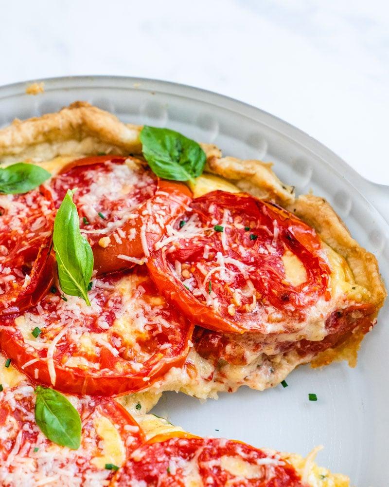 Amazing tomato pie