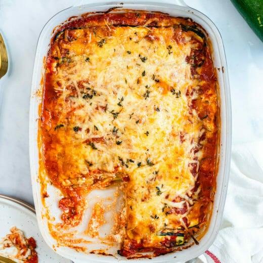 Best Zucchini Lasagna