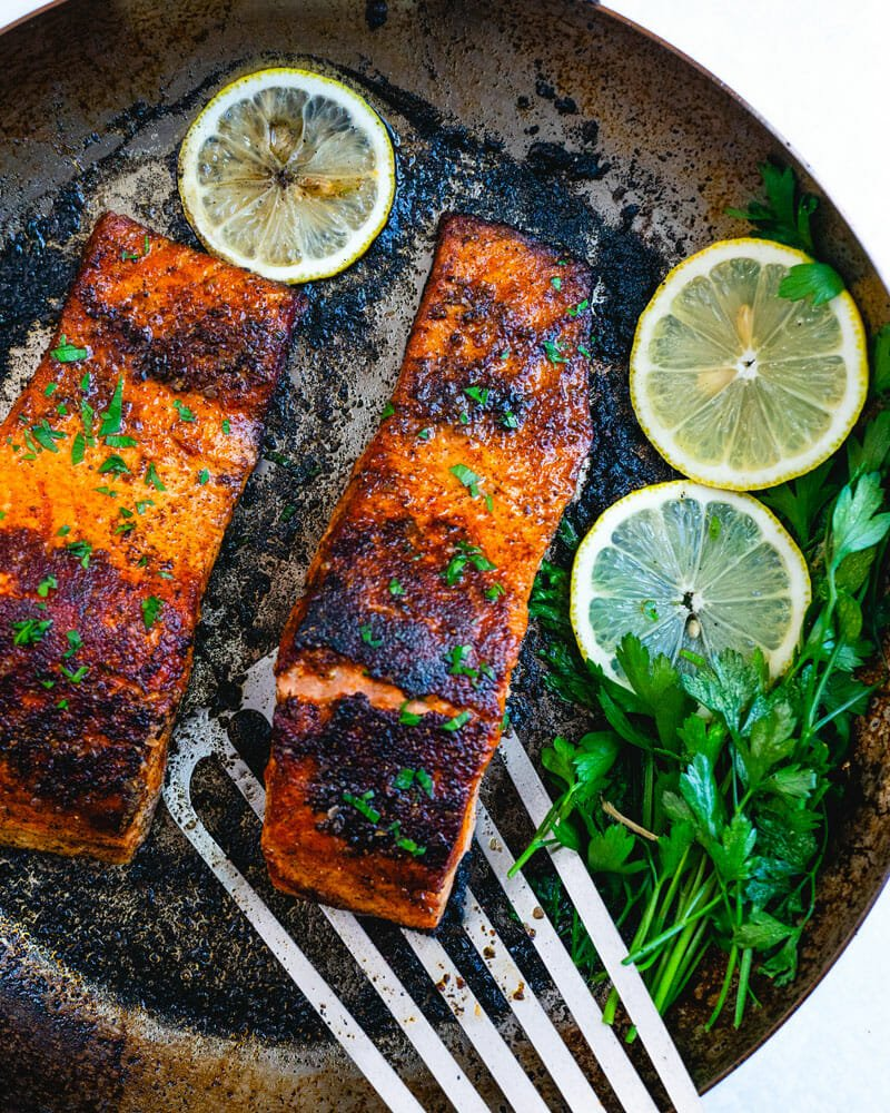 How to make Blackened salmon