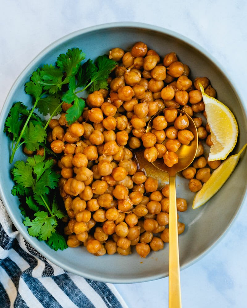 Canned chickpeas recipe