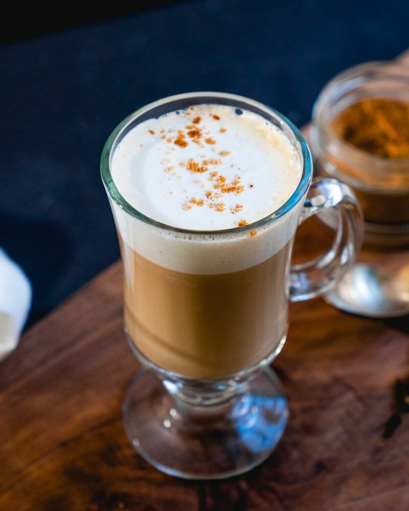 How to make a dirty chai latte