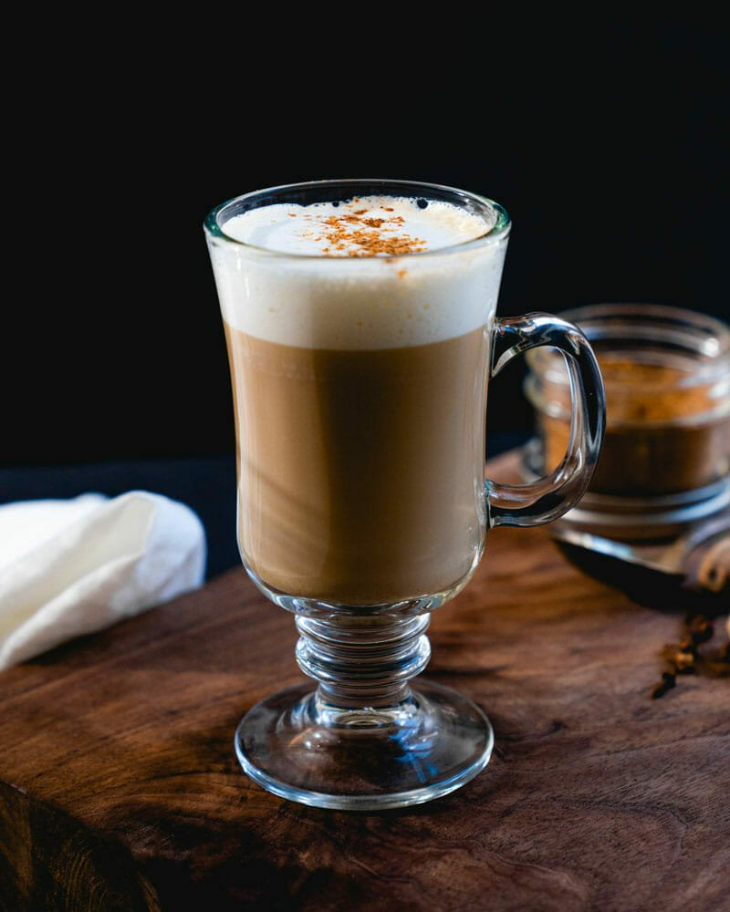 Dirty chai latte
