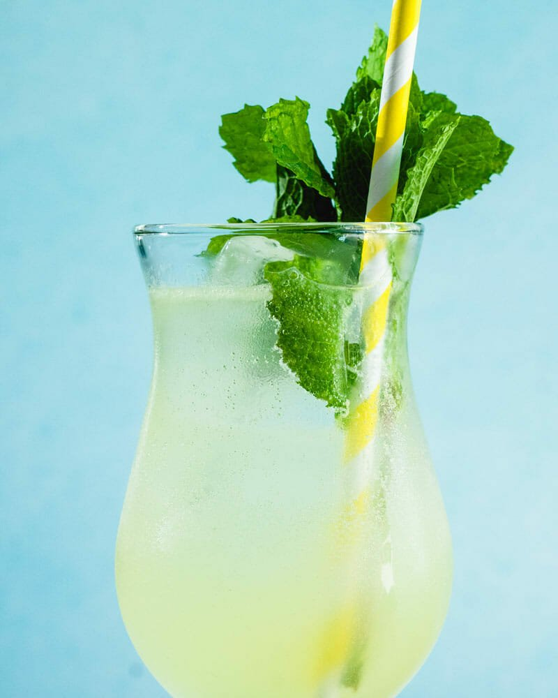 Limoncello Mojito Cocktail