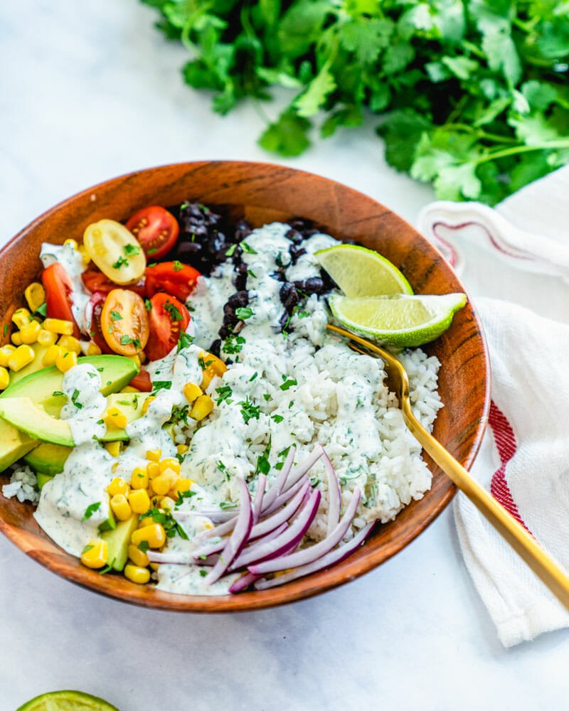 Easy rice bowl