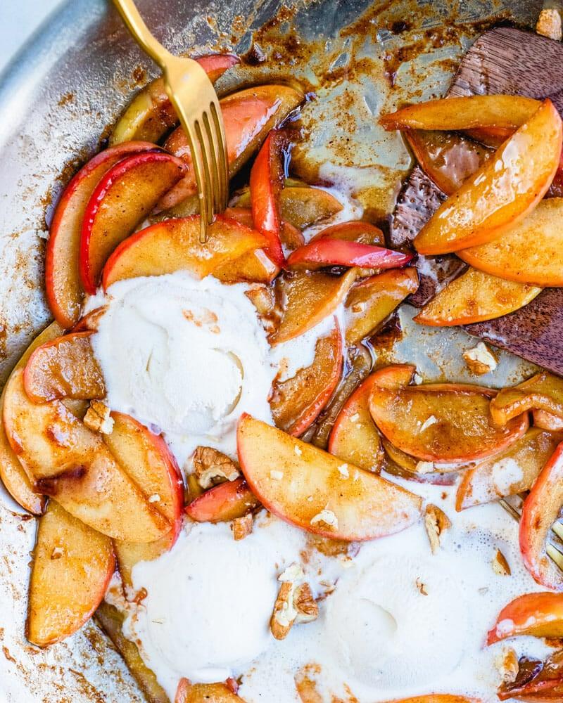 How to make sauteed apples