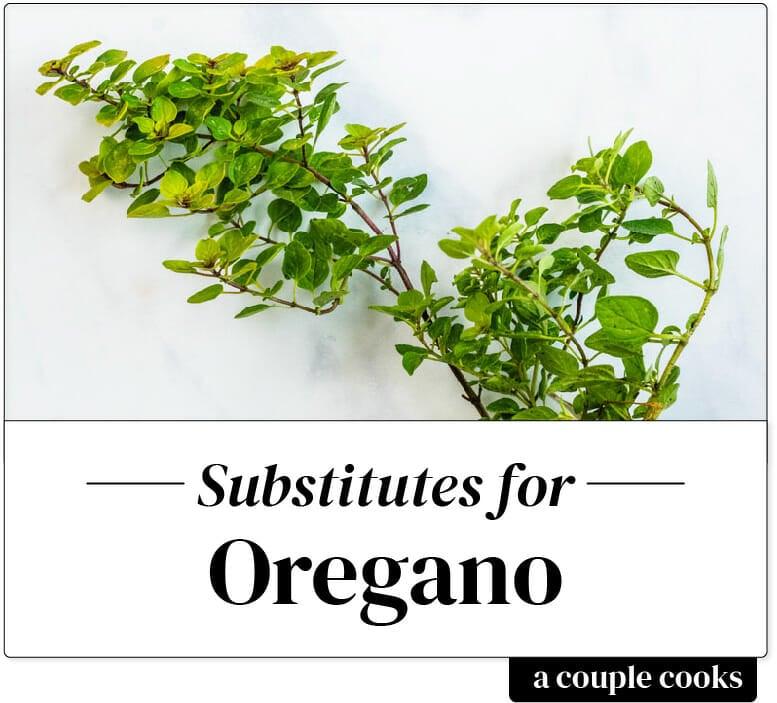 Oregano Substitute