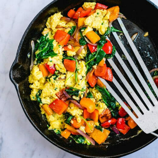 Breakfast vegetables