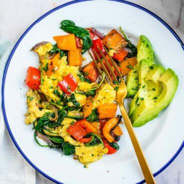 Breakfast vegetables