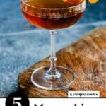 Maraschino Liqueur Cocktails