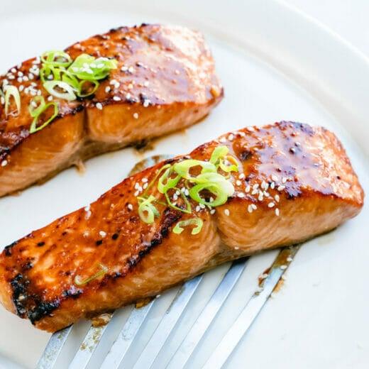 Miso salmon
