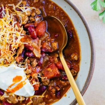 Quick chili recipe