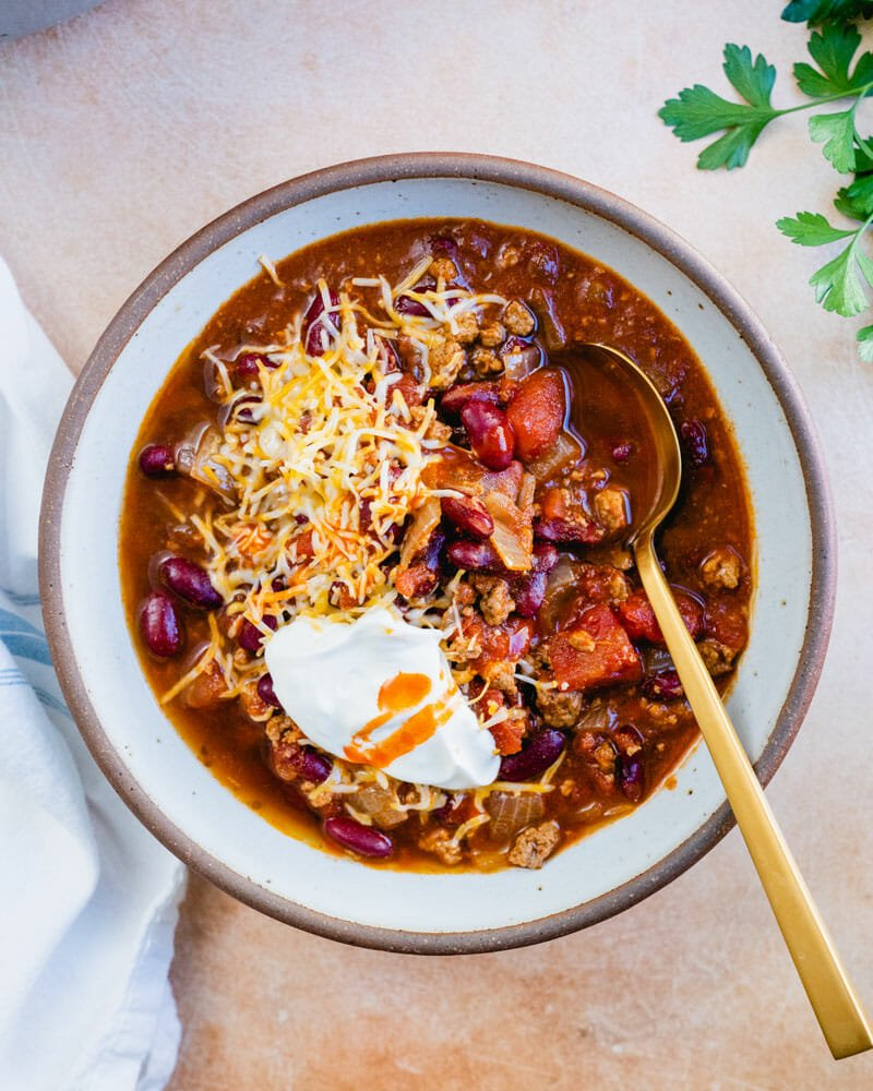 Quick chili recipe