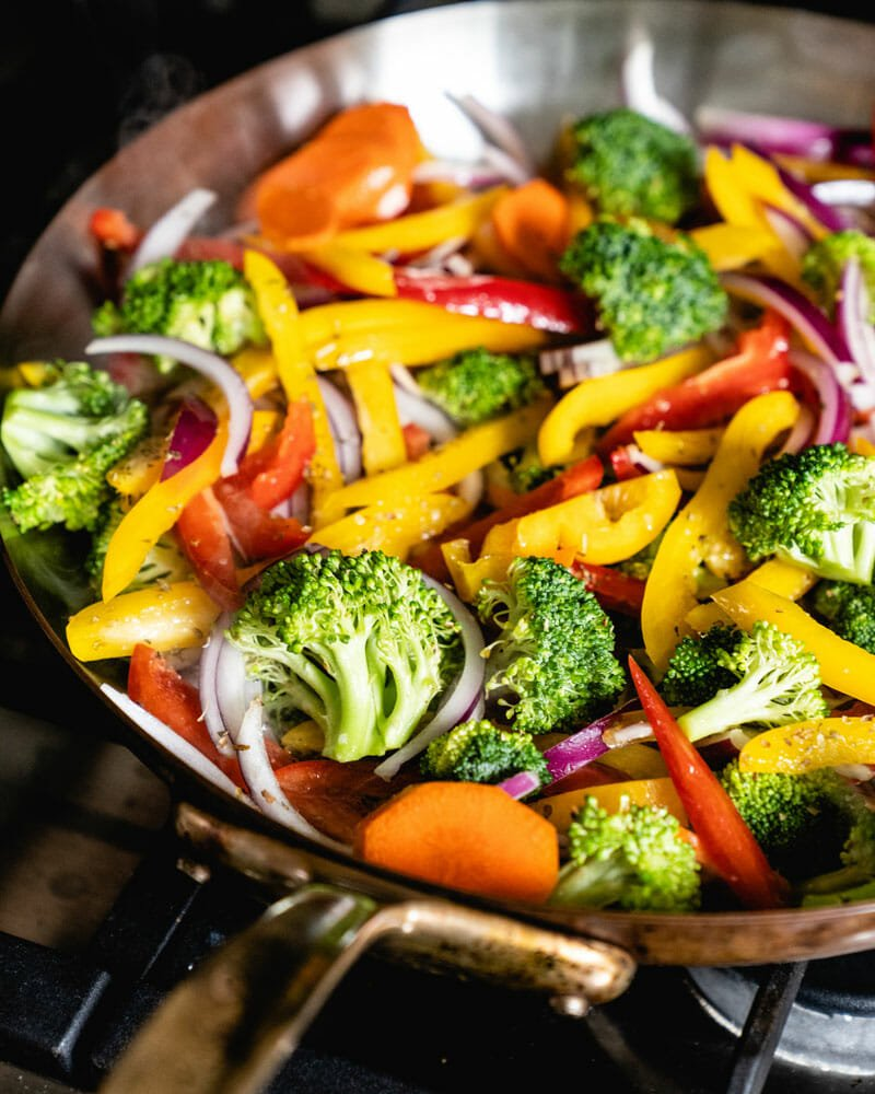 How to saute vegetables