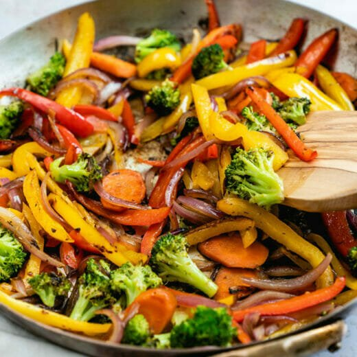 Best sauteed vegetables