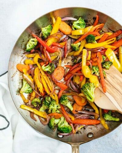 Best sauteed vegetables