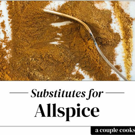 Allspice substitute