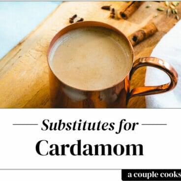 Cardamom substitute
